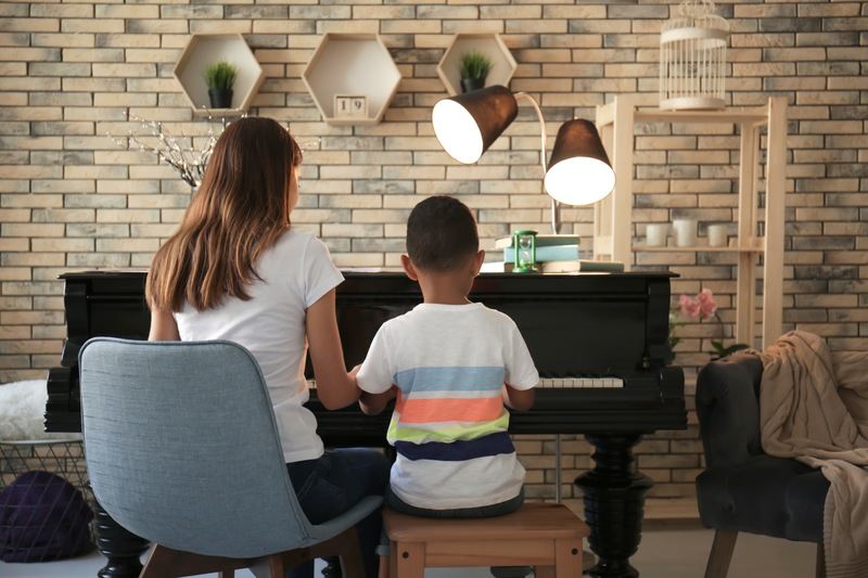 Encourage Children to Play the Piano by Showing Your Support