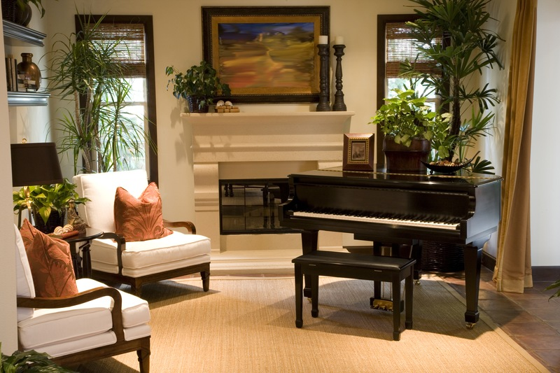 extraordinary living room piano idea | 4 Ideas to Make Your Piano Room the Best in the House